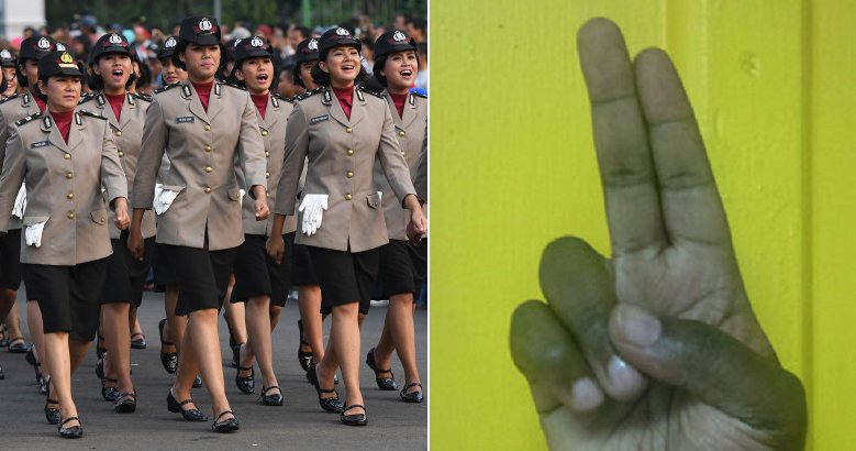 "Indonesian Women Must Go Through ""Two-Finger"" Virginity Test Before Becoming a Police - WORLD OF BUZZ 1"