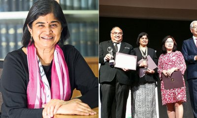 The United Nations Just Awarded Ambiga For Her Contributions to Sustainable Development - WORLD OF BUZZ