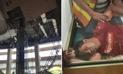 Foreign Worker Falls 12 Metres & Suffers Head Injuries After Ceiling Of Hilton Kl Collapses - World Of Buzz 14