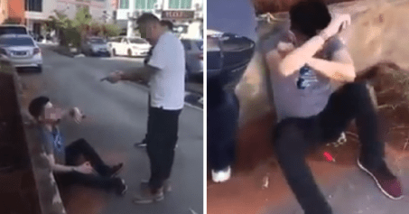 """I Did Not Raise My Daughter For You To Abuse Her,"" M'sian Father Teaches Son-in-Law Lesson On The Street - WORLD OF BUZZ"