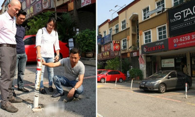 Kepong MP: Businesses Who Block Reserved Parking Bays After Hours Can Be Fined RM500 - WORLD OF BUZZ 6