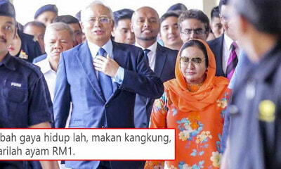 Najib Asks Public For Donations to Help With Legal Fees, Malaysians Give Him Money-Saving Tips - WORLD OF BUZZ 1