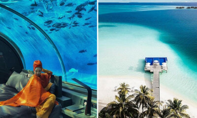 Neelofa is One Of The First People in The World to Stay at This Underwater Resort That Costs RM200k A Night! - WORLD OF BUZZ