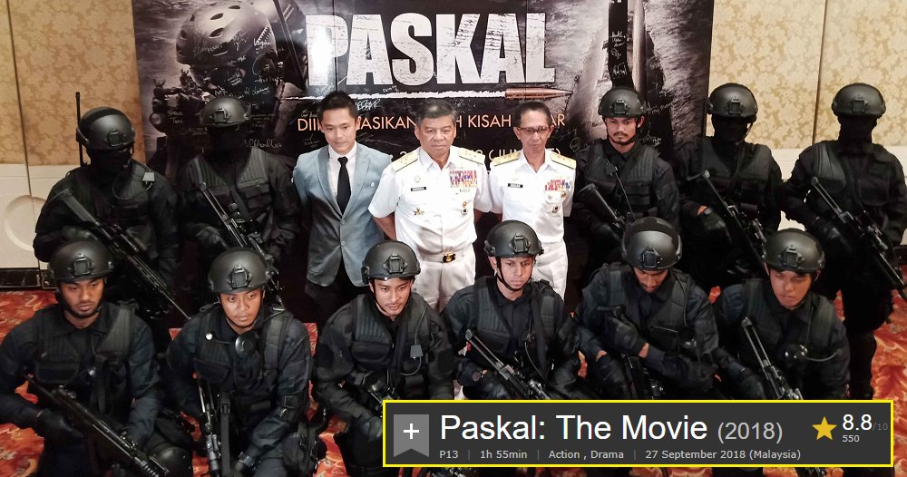 'Paskal' The Movie Becomes The First Malaysian Movie to Receive IMDb Highest Rating - WORLD OF BUZZ 2