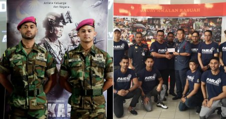 Paskal The Movie Donates RM30,000 to Families of Firefighter Who Lost Their Lives in Rescue Mission - WORLD OF BUZZ