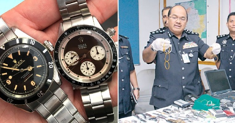 Pdrm Is Auctioning Off Jewellery And Branded Watches For As Low As Rm30, Here'S The Details - World Of Buzz 11