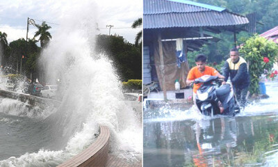 Selangorians In These Areas Should Be Ready For Evacuation Due to High Tides And Heavy Rain - WORLD OF BUZZ