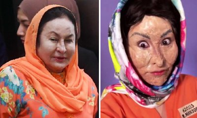 S'porean Blogger Xiaxue Used 4 Hours to Transform Herself into Rosmah in an Orange Jumpsuit - WORLD OF BUZZ 1