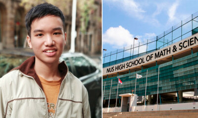 This M'sian Writes His First App at 13 Years Old, Gets Recruited by S'pore Gifted School With Scholarship - WORLD OF BUZZ