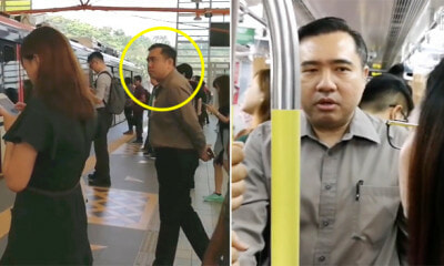 Transport Minister Conducts Spot Check By Actually Taking LRT During Peak Hours - WORLD OF BUZZ