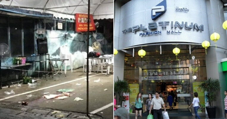 Two Tourists Die After Getting Caught In Gunfight Between Rival Gangs Near Bangkok Platinum Mall - World Of Buzz 5