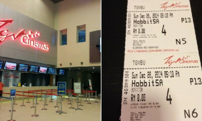 You Can Enjoy Buy 1 Free 1 TGV Movie Tickets Every Saturday for The Whole of Oct! - WORLD OF BUZZ 3