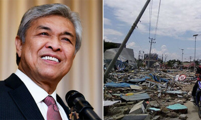 Zahid Says Earthquake in Indonesia Was God's Punishment for LGBT, Worries About M'sia - WORLD OF BUZZ