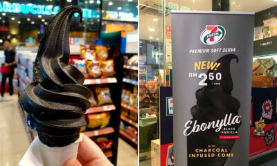 7-Eleven is Now Selling BLACK Vanilla Ice Cream! Here's Where to Get It - WORLD OF BUZZ 2
