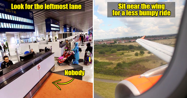 9 Travel Secrets M'sians NEED to Know to Make Their Travels 10X Easier - WORLD OF BUZZ 9