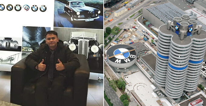 BMW Offers This M'sian Uni Student 10 Year Contract To Be Their Technology Expert in Germany - WORLD OF BUZZ