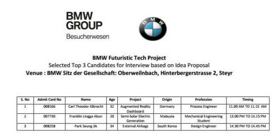 BMW Offers This Uni Student From Sarawak 10 Year Contract To Be Their Technology Expert - WORLD OF BUZZ 1