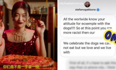 China is Boycotting Dolce & Gabbana After Controversial Ad & Co-Founder's Racist Comments Surface - WORLD OF BUZZ