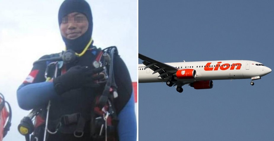Diver Sadly Passes Away During Search Mission for Crashed Lion Air Plane - WORLD OF BUZZ 2