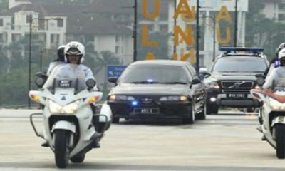 Driver Gets Fined RM5,000 Because He Did Not Make Way For VVIP Convoy - WORLD OF BUZZ 3