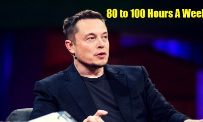 "Elon Musk Says Employees Should Work 80 to 100 Hours Per Week to ""Change The World"" - WORLD OF BUZZ 1"
