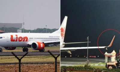 Lion Air Faces Another Accident & Forced to Cancel Flight After Denting Left Wing By Hitting Coordinate Pole - WORLD OF BUZZ