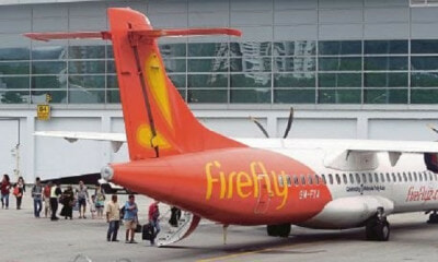 Firefly is Suspending All Flights to Singapore Starting 1st December - WORLD OF BUZZ 1