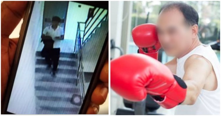 Former 76yo Boxer Saved Granddaughter From Being Kidnapped In Petaling Jaya - WORLD OF BUZZ