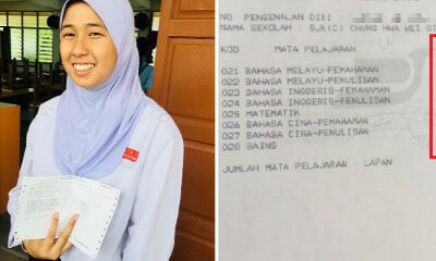 Girl Who Scored 8As in UPSR 2018 Wants to Master 7 Languages To Be A Translator - WORLD OF BUZZ 3