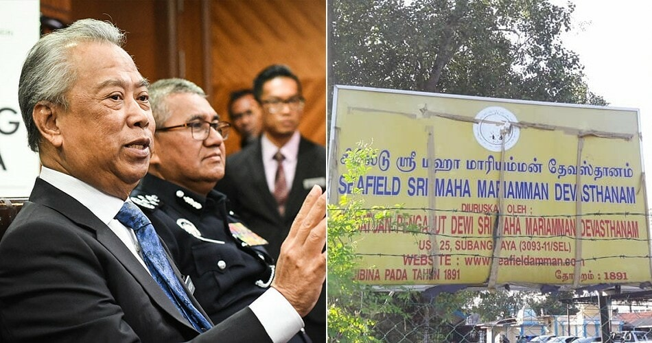 Home Minister: Developer's Lawyers Hired Thugs Which Led to Seafield Temple Riot - WORLD OF BUZZ