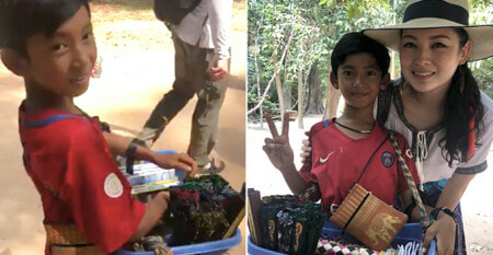 Malaysian Traveller Amazed By This Kid Selling Souvenir Who Can Speak Over 10 Languages - WORLD OF BUZZ