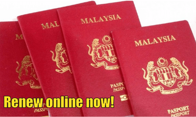 Malaysians Can Actually Renew Theirs Passports Online Since Two Years Ago - WORLD OF BUZZ