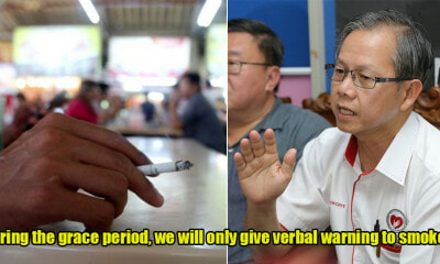 MOH: Smokers Will Get 6 Months Grace Period Before Ban is Strictly Enforced At Eateries - WORLD OF BUZZ