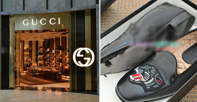 M'sian Man Pays RM3,900 For Gucci Loafers, Soles Peeled Off After Wearing For 3 Hours - WORLD OF BUZZ