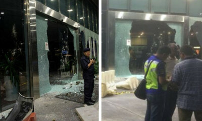 One City Mall Vandalised A Day After Group Attacked Seafield Temple, Fireman Critically Injured - WORLD OF BUZZ 1