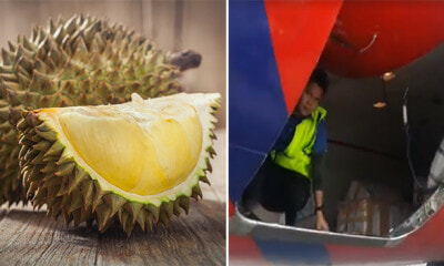 Passengers Couldn't Tahan the 'Unpleasant' Smell of Durian, Causes 1 Hour Flight Delay - WORLD OF BUZZ