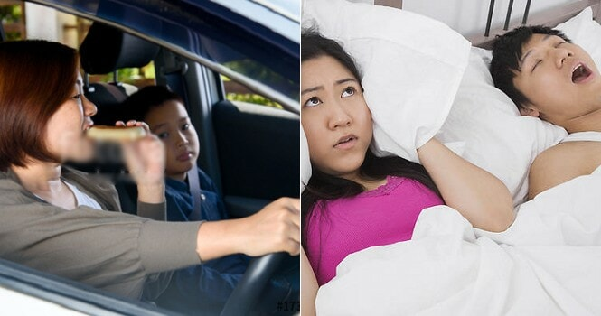 Report: Most M'sian Couples Get Divorced Due to Spouses Snoring & Eating in Car - WORLD OF BUZZ