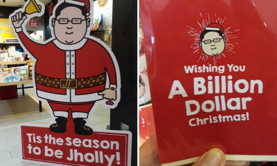 This Local Gift Store Has Jho Low-Themed Christmas Merch & They're Selling Fast! - WORLD OF BUZZ 6
