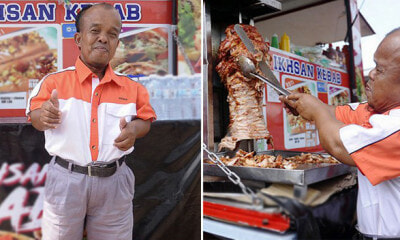 This Malaysian OKU Owns 5 Food Trucks And Earns RM8,000 Per Day By Selling Kebabs - WORLD OF BUZZ