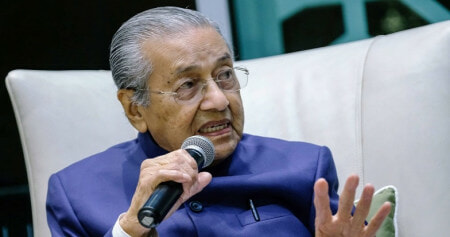 "Tun M: ""I Did Not Receive Any Official Confirmation That The YDP Agong Got Married"" - WORLD OF BUZZ 2"