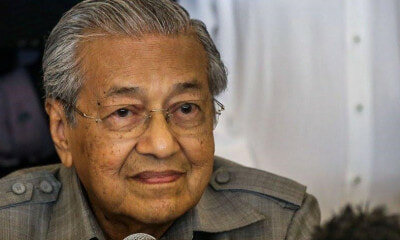 Tun M: Malaysians Prefer to Be Spoon-Fed Than to Work Hard - WORLD OF BUZZ