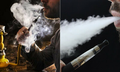 """Vape & Shisha Containing Nicotine Are Included in Cigarette Ban,"" Health Minister - WORLD OF BUZZ"