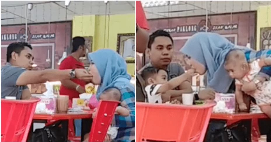 Watch: A Loving Couple Set A Good Example For Their Children - WORLD OF BUZZ