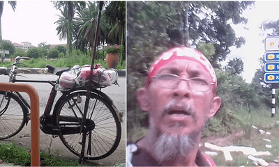52yo Man Cycled 170km To Attend The Anti-ICERD Rally - WORLD OF BUZZ