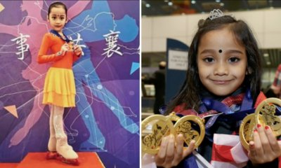 7yo M'sian Ice Skater Nabs 4 Gold Medals in Asian Tour, Aims to Win 2026 Winter Olympics - WORLD OF BUZZ 2