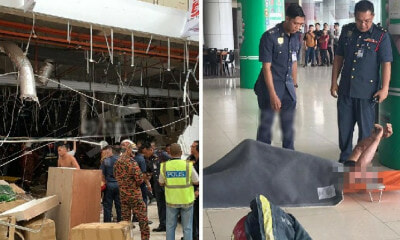 At Least 18 Injured and 3 Died At Explosion in City One Megamall in Kuching - WORLD OF BUZZ 5