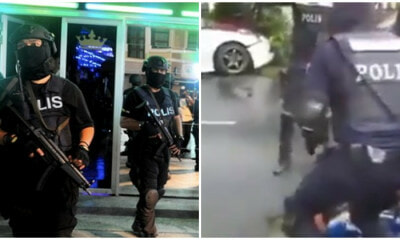 Balaclava-Clad Policemen Exercise Brute Force When Apprehending Suspect In Cheras - WORLD OF BUZZ