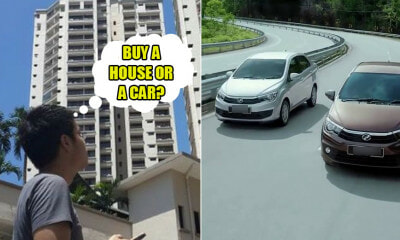 Buying a Car vs Buying a House: Which Should M'sians Prioritise First and Why? We Find Out - WORLD OF BUZZ