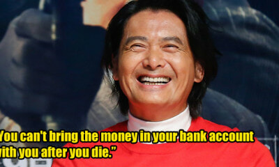 Chow Yun-Fat Will Donate His Entire Wealth Worth RM2.9 Billion to Charity After He Dies - WORLD OF BUZZ