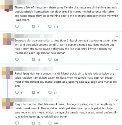 Clouded By Suicidal Thoughts, Netizen Shares Her Experience In A Psychiatric Ward - WORLD OF BUZZ 2